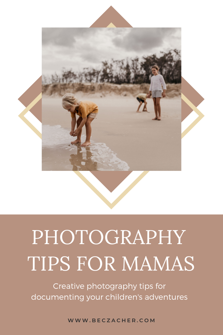 Creative photo tips, tutorials and before and after images for documenting your children in a storytelling type way.